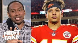 Saying Patrick Mahomes is better than Aaron Rodgers is disrespectful  – Stephen A. | First Take