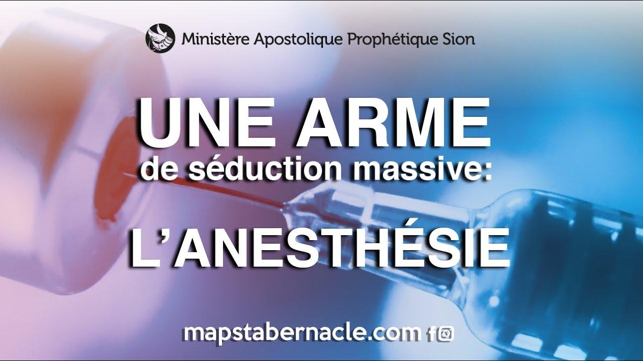 Une arme de destruction massive : l'anesthésie