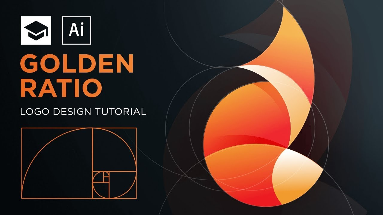 How to design a logo with golden Ratio #3 | Adobe