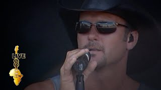 Tim McGraw - Live Like You Were Dying (Live 8 2005)