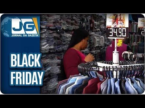 Black Friday no comércio popular