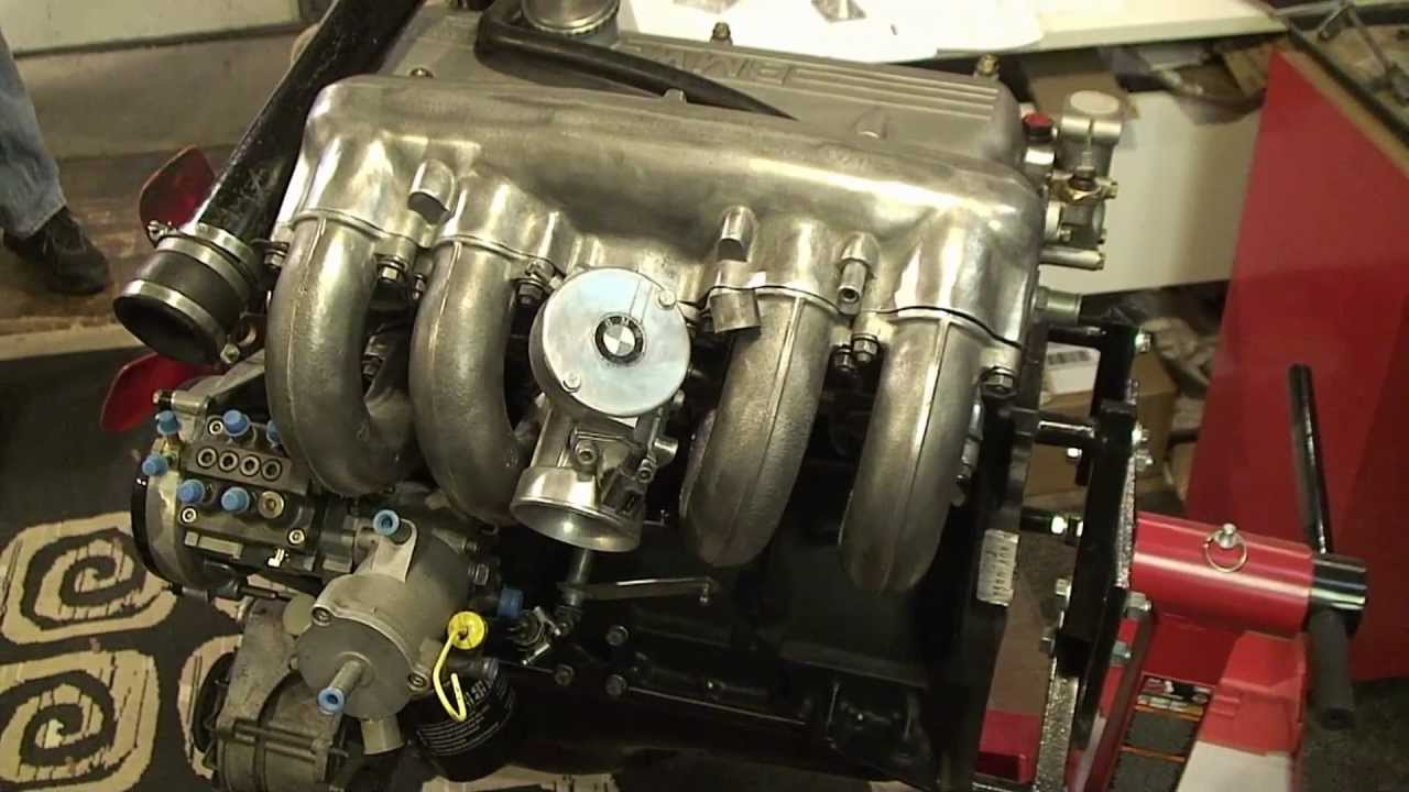 What Is A Crate Engine >> BMW 2002 Turbo M10 Crate Motor - Rough Fitting the Components - YouTube
