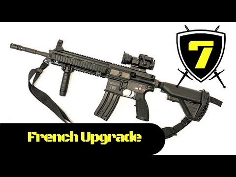 French Army - New HK 416F Assault Rifle