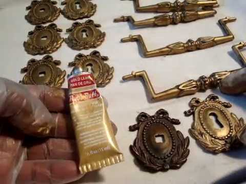 Diy How To Use Rub N Buff And Restore Tarnished Hardware