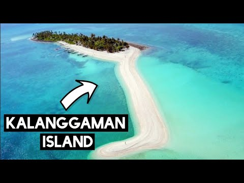 We Went To The Most Beautiful Island In The PHILIPPINES (KALANGGAMAN ISLAND)