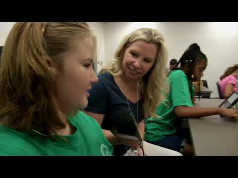 Women in Defense support PCS Summer STEM at Morgan Fitzgerald Middle School
