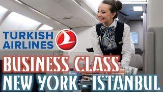 Vlog EP47 - Türk Hava Yolları ile New York'tan Ankara'ya Business Class Deneyimi