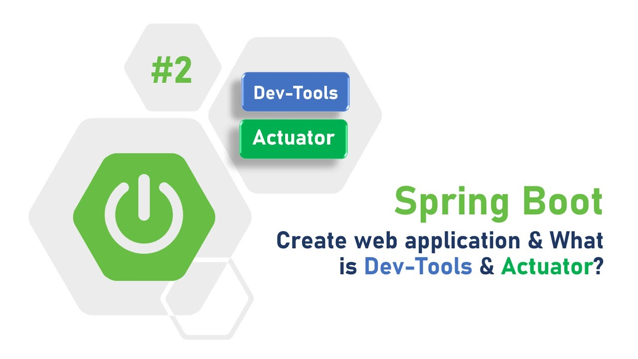 2 - Spring Boot Tutorial : What is Devtools and Actuator?   Mighty Java