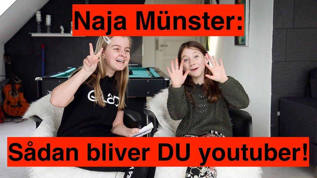 Bliv youtuber med Naja Münster - Nadja møder sit store idol