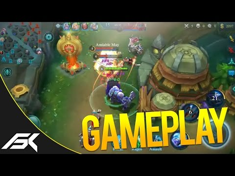 Mobile Legends: NEW HERO AUTOBOT JOHNSON GAMEPLAY