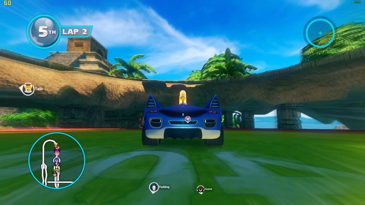 sonic racing transformed apk mod