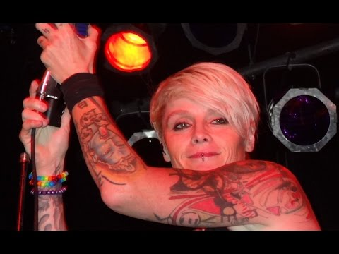 Otep  POETRY  BLOOD PIGS  Des Moines IOWA 2013 at Woolys