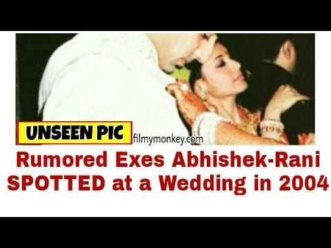 UNSEEN: Rumored Exes Rani Mukerji-Abhishek Bachchan SPOTTED Together In 2004 At Farah's Sangeet