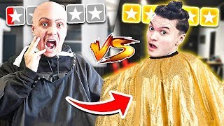 $10 Haircut VS $100 Haircut... *Big mistake*