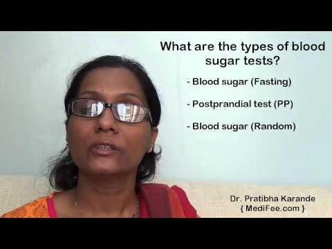 Blood Sugar Test - When, How & What