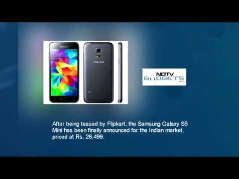 Samsung Galaxy S5 Mini With 4.5 HD Display Launched at Rs. 26,499