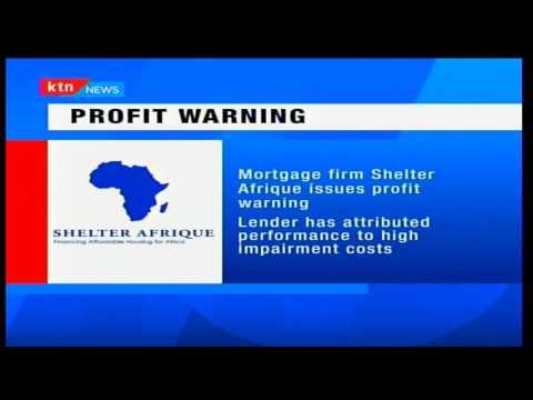 Mortgage provider Shelter Afrique issues profit warning