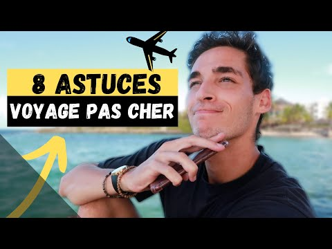 8 Astuces Voyage PAS Cher | Avion, Repas, Activité, Hébergement