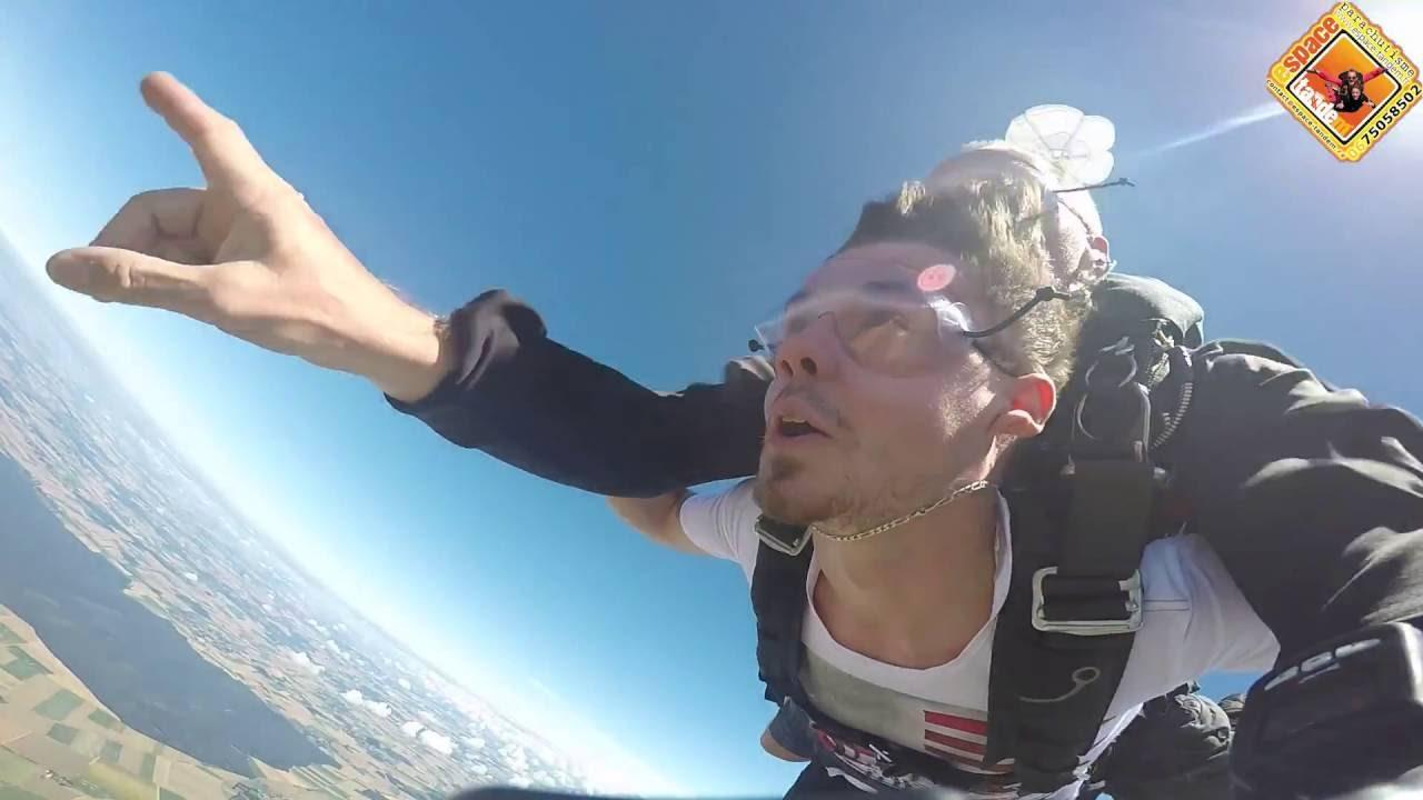 saut en parachute baie de somme