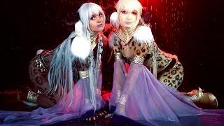 Escaflowne cosplay cats