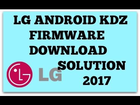 LG KDZ FIRMWARE DOWNLOAD METHOD 2017/blank page essue solved