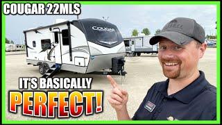 PERFECT Couple's ½ Ton RV! 2021 Cougar 22MLS