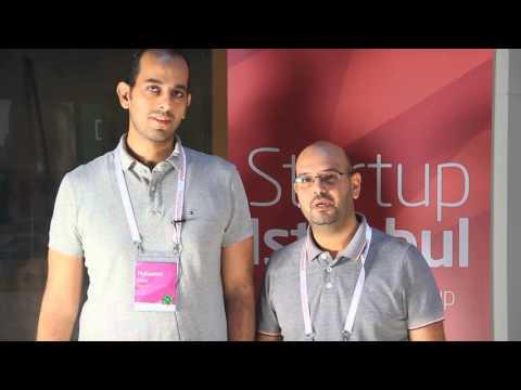Startup Istanbul 2015 - Mohamed Gouda & Amr Oreaba (Founders of Pitalk) Interview