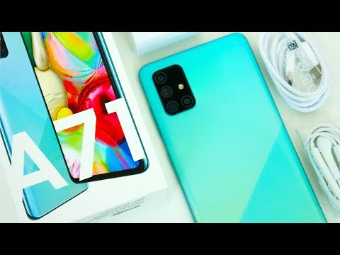 Samsung Galaxy A71 Unboxing, Hands On & First Impressions!