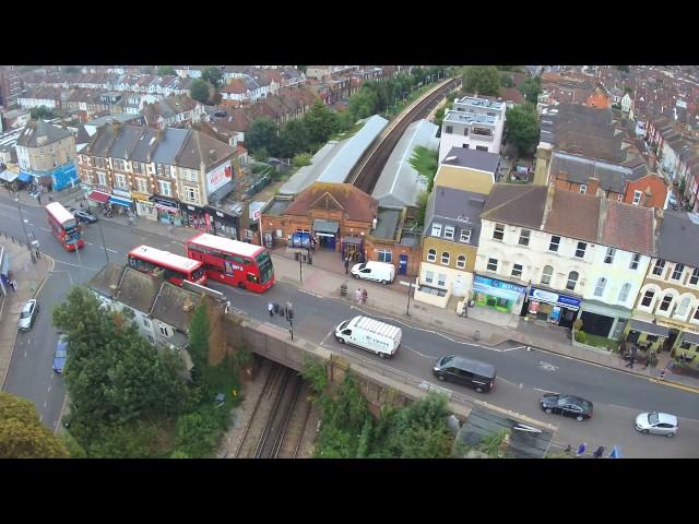 Breeze 4k Drone over Tooting Junction London UK 1/2