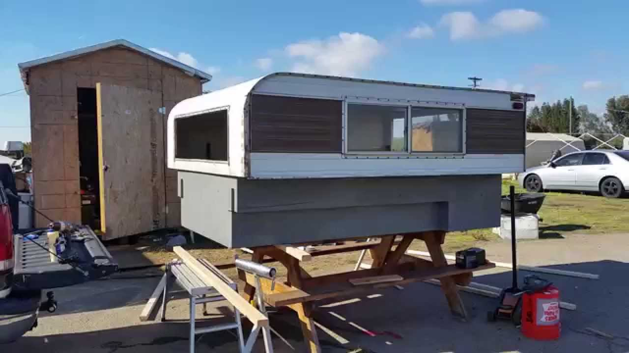 Vintage Truck Camper 106