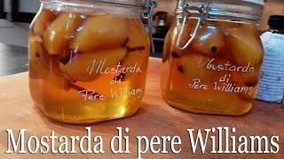 Mostarda Di Pere Williams Italian Mustard Of Pearssub English