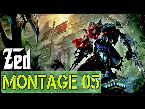 NEW Zed 2019 Montage - Best Of Zed Plays | League Of Legends