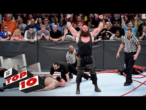 Top 10 Raw moments: WWE Top 10, Apr. 17,...
