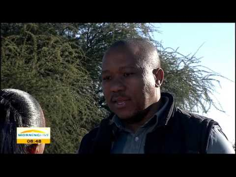 Rich agriculture and draught problems in Taung
