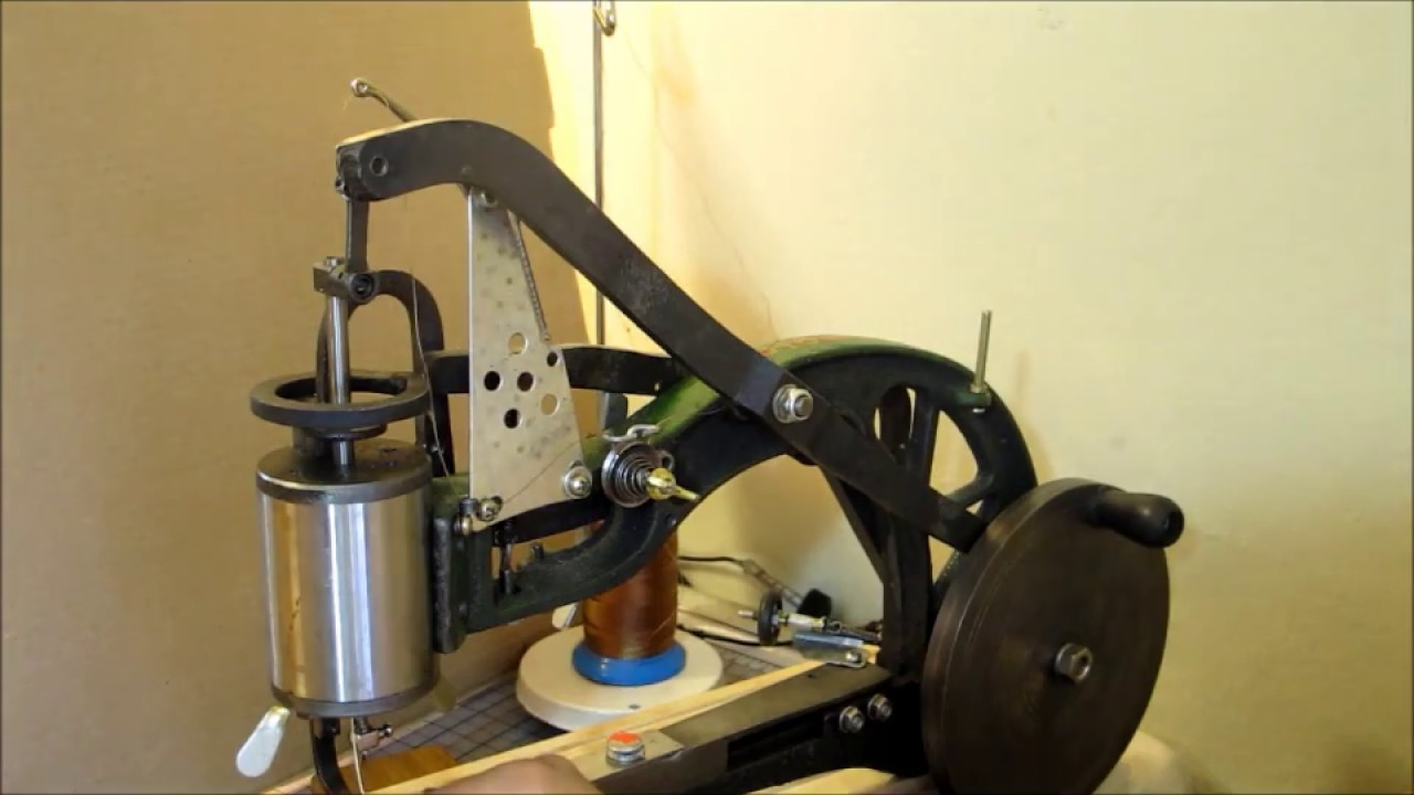 Chinese leather shoe patcher sewing machine part 3 - YouTube