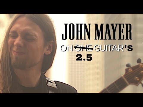 Mike Dawes  Slow Dancing in a Burning Room John Mayer ft Nick Johnst