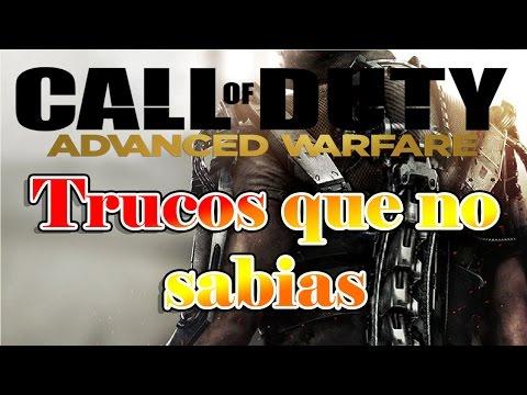 Call of duty advanced warfare Trucos que no sabias