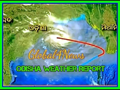 Oriya OTV News Today of Cyclonic Storm in Odisha 2016