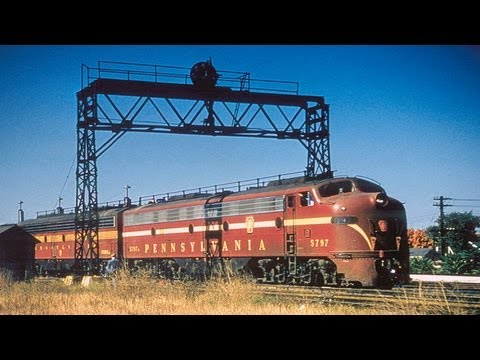 1950s Pennsylvania Railroad Film from Emery Gulash