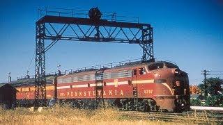 1950s Pennsylvania Railroad Film from Emery Gulash