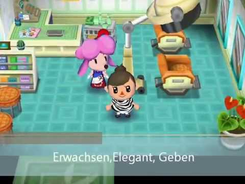 Animal Crossing Madchen Frisuren Lets Go To The City