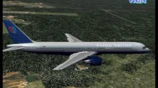 United 115 Washington - Chicago (FS2004 Video)