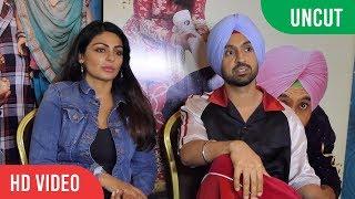 Chit Chat With Diljit Dosanjh And Neeru Bajwa   SHADAA Upcoming Movie