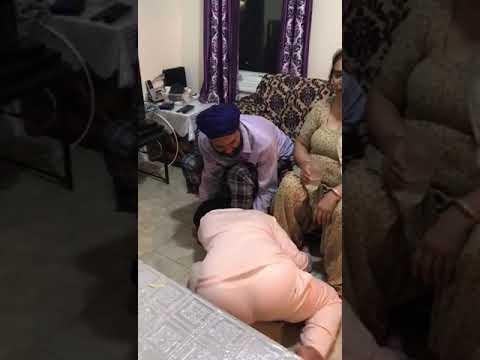 Drunk Punjabi Lady