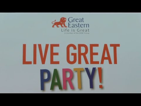 Live Great Party - Launch of the Live Great Programme - Great Eastern
