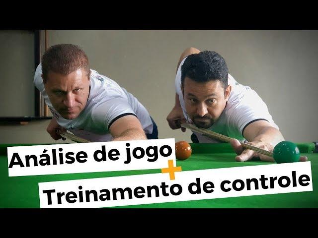 Snooker: Análise de jogo + Treinamento para controle de bola