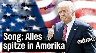 Alles spitze in Amerika - Ein Song für die USA     extra 3   NDR