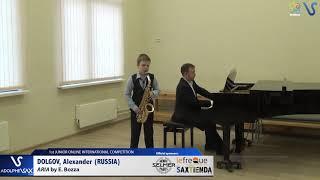 Alexander Dolgov – Aria by Eugene Bozza