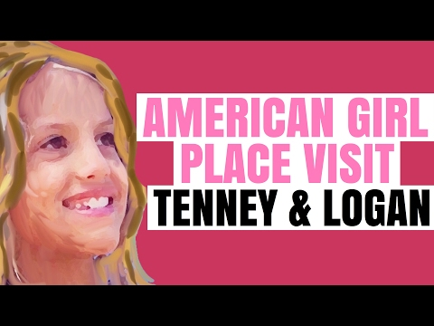 American Girl Place Store Visit - Tenney and Logan