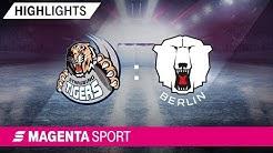 Straubing Tigers - Eisbären Berlin | 1. Playoff-Runde, Spiel 1, 18/19 | MAGENTA SPORT